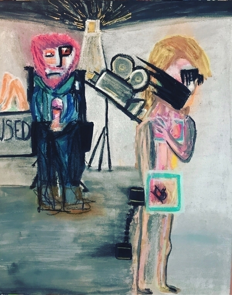 Exploitation- Pastel canvas. Na - nash-heff | ello