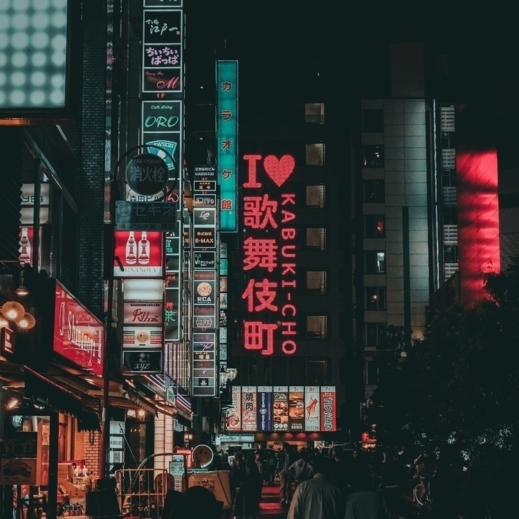 Kabukicho red light district, d - kenth_ | ello