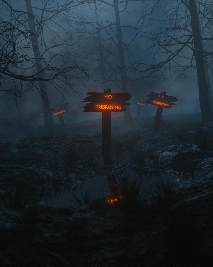 Forbidden Forest - Cinema4D, C4D - nessgraphics   ello