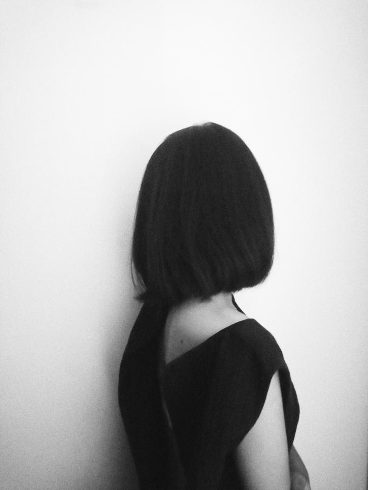woman - blackandwhite, potrait, photo - uvha   ello