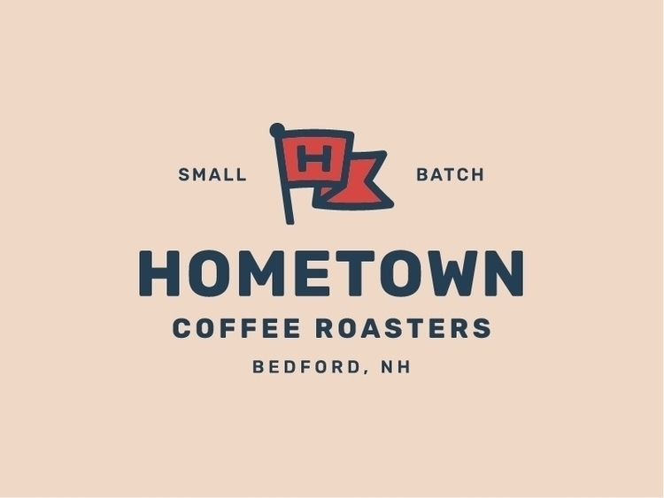 Final logo Hometown Coffee Roas - ryanprudhomme | ello