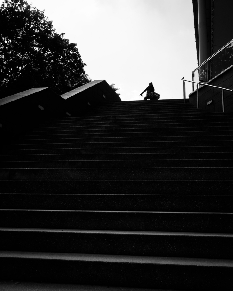 Stairway heaven - fujifilm, streetphotography_bw - mysocialsolitude | ello