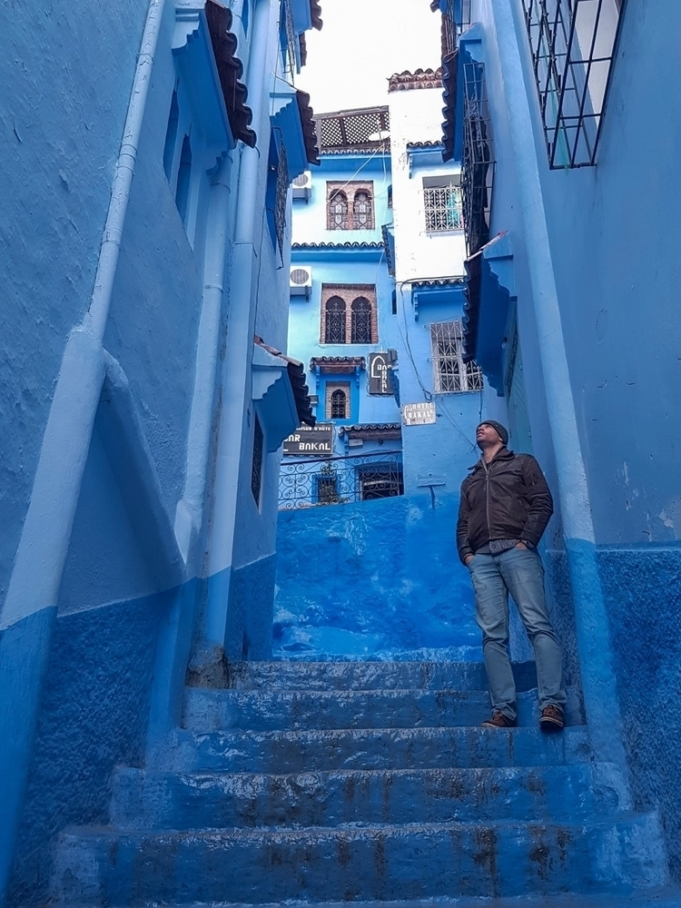 live blue planet - colors, morocco - lisboa_nomad | ello