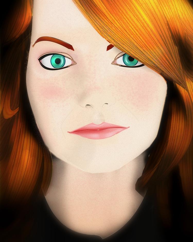 Emma Stone - emmastone, emma, stone - bordermind | ello