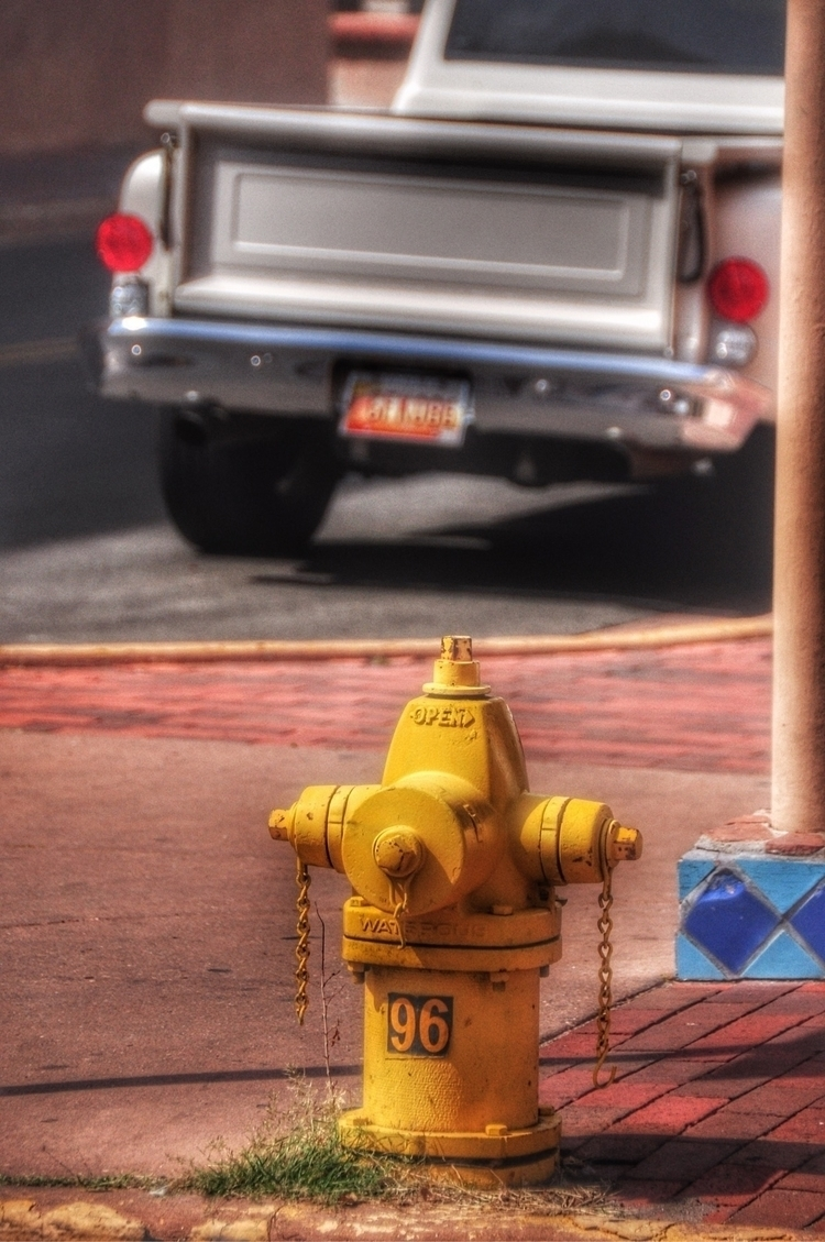 "Hydrants: USA, ""96"", Santa Fe,  - madap 