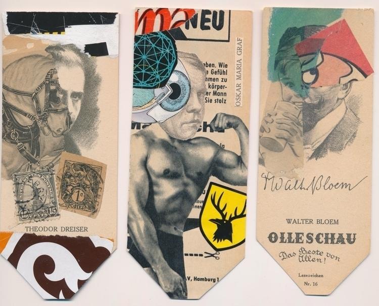 Heads Allan Bealy/USA! Check co - papiergedanken-collage-art | ello