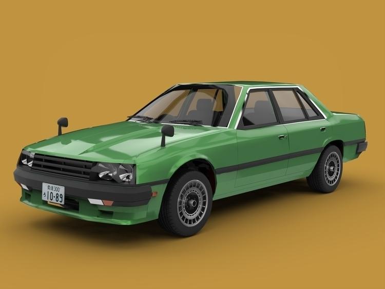 Nissan Skyline R30 Sedan - apparentlyartsy | ello