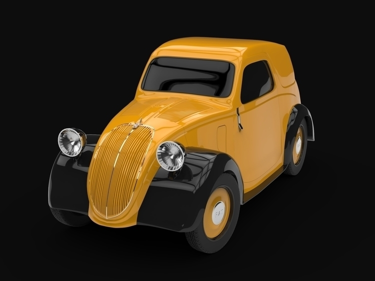 Fiat Topolino 500A - apparentlyartsy | ello