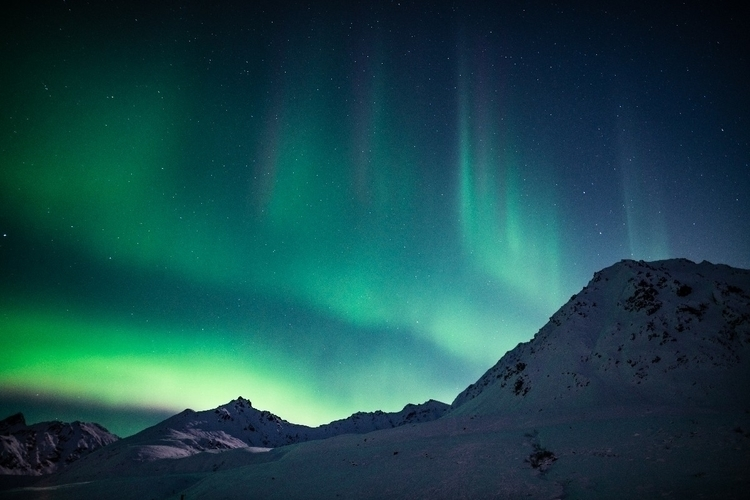 feeling standing Northern Light - aphotosmith | ello