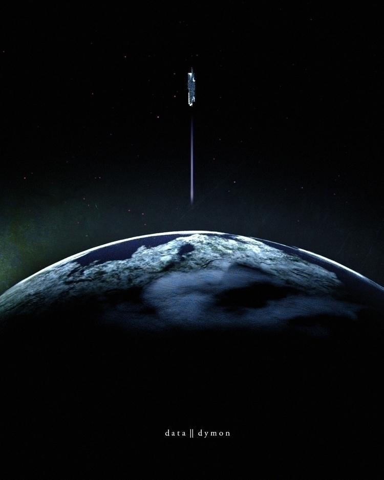 Space - 3d, cinema4d, c4d, scifi - datadymon | ello