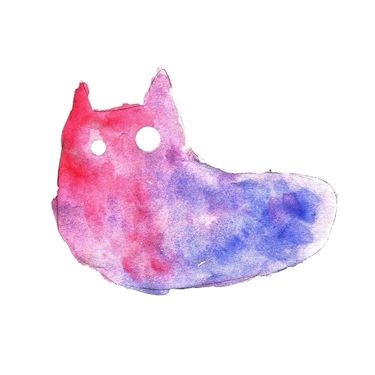 Cat Slug June 2017 - art, abstract - eliseolarte | ello