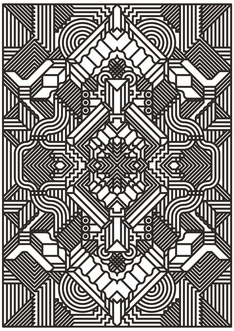 kettel - posterdesign, pattern, vector - madebytak | ello