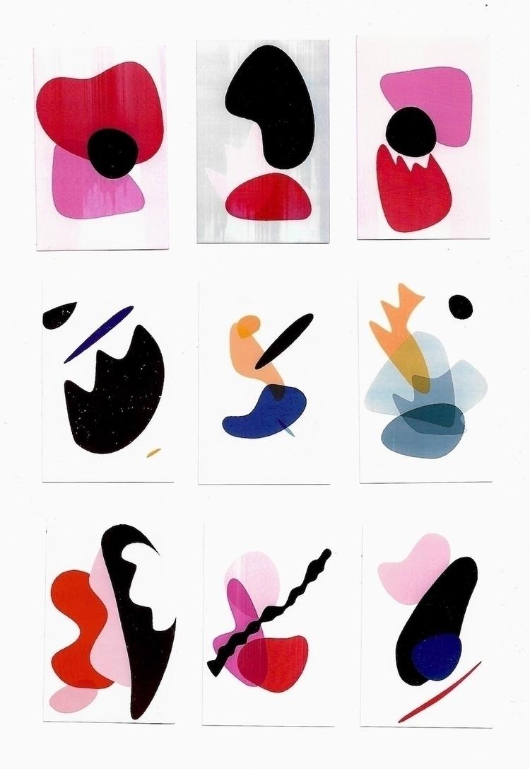Quick digital drawings printed  - varls | ello