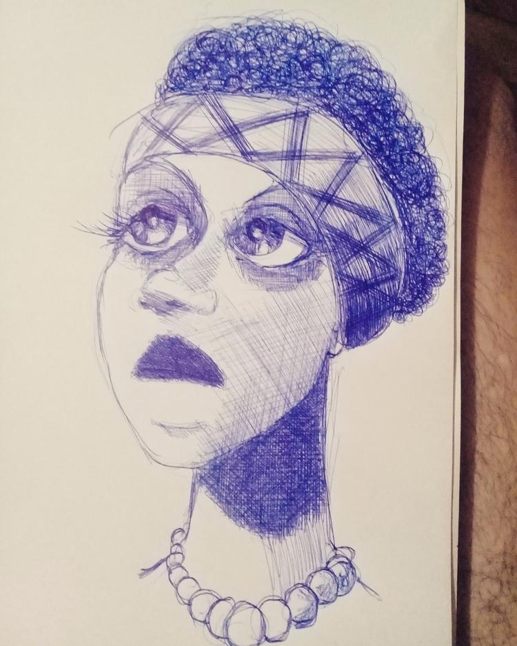 Night sketching - sketch, illustration - cjburgos | ello