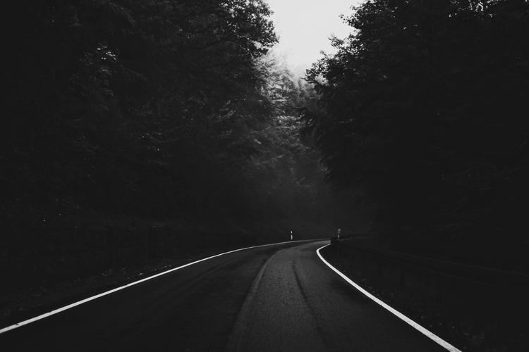 Mountain road Franken, Nov. 201 - thanospal | ello