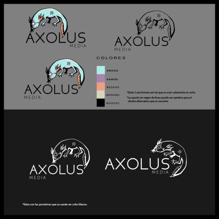 AXOLUS LOGO (Logo Design) 2017 - jocandeka | ello