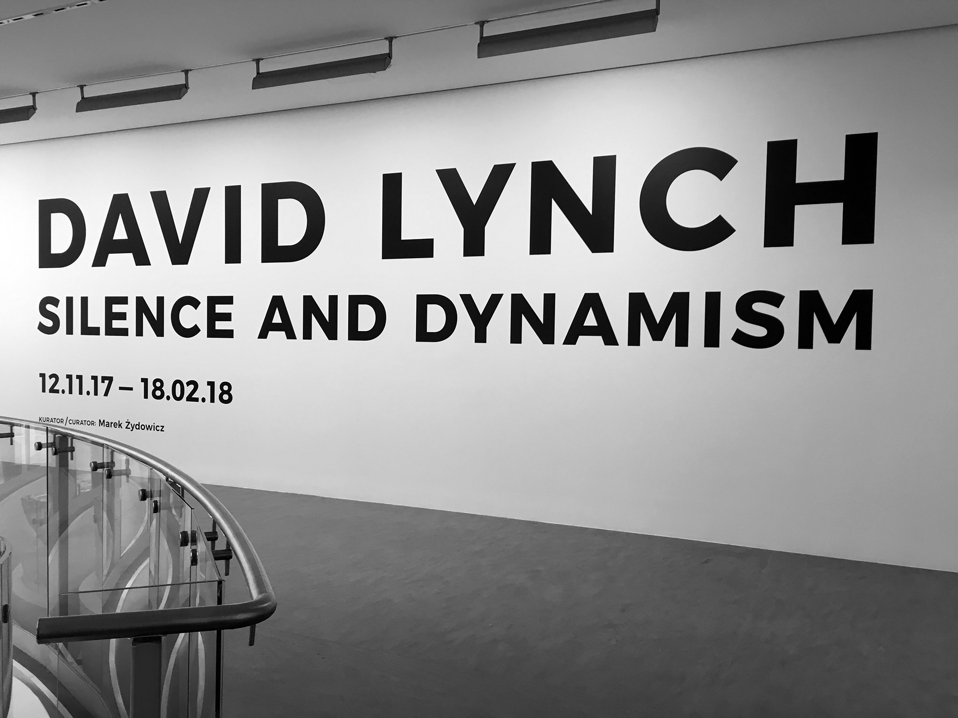 Wystawa: David Lynch. Silence And Dynamism
