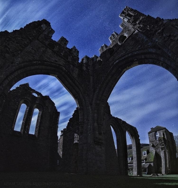 light skies, dark ruins - astro - adamtattonreid | ello