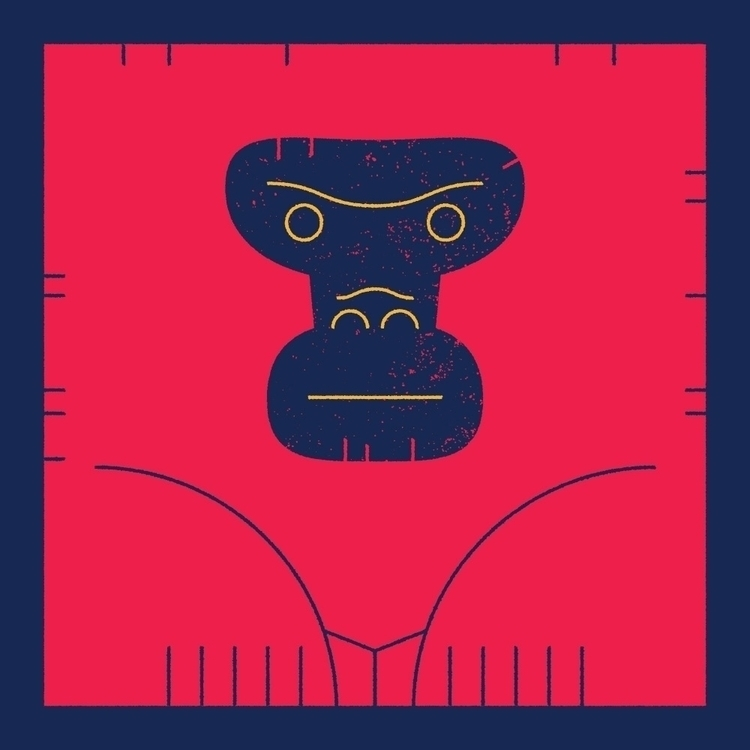 Kong - Illustration - dannygreaves | ello