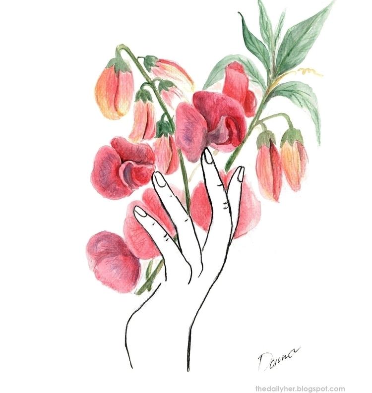 """Act giving art flowering heart - donnasoguilon | ello"