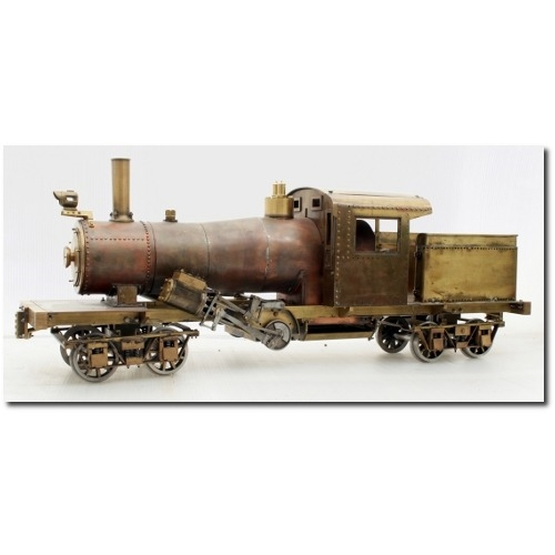 Live steam Locomotive fabricati - mattaken   ello