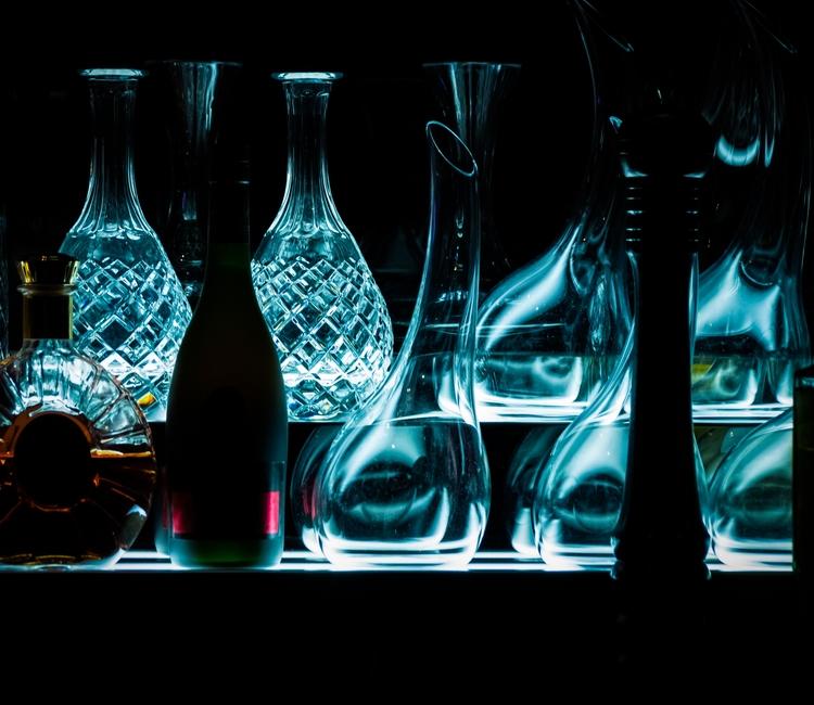 Bottles Shelf - photography, photograph - naebits | ello