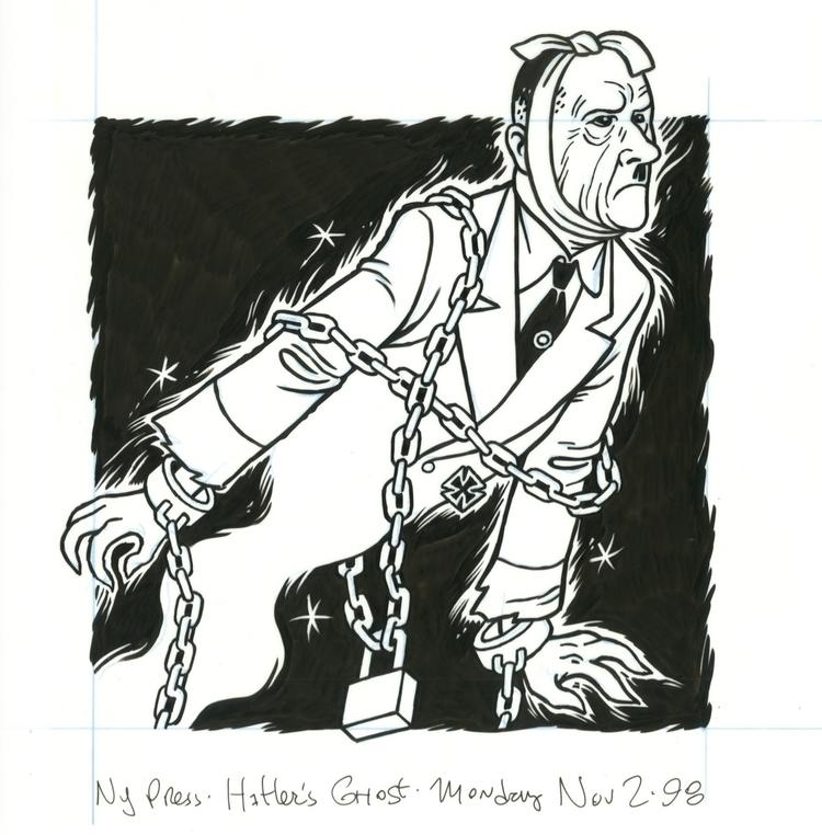 Ghost, illo NYPress, 11/2/98, a - dannyhellman | ello