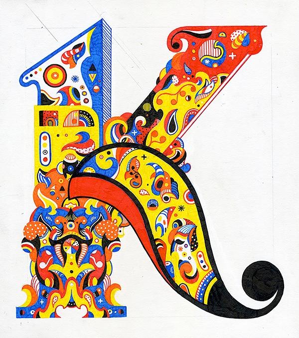 Letter 9 12 microns illustratio - timfurey | ello