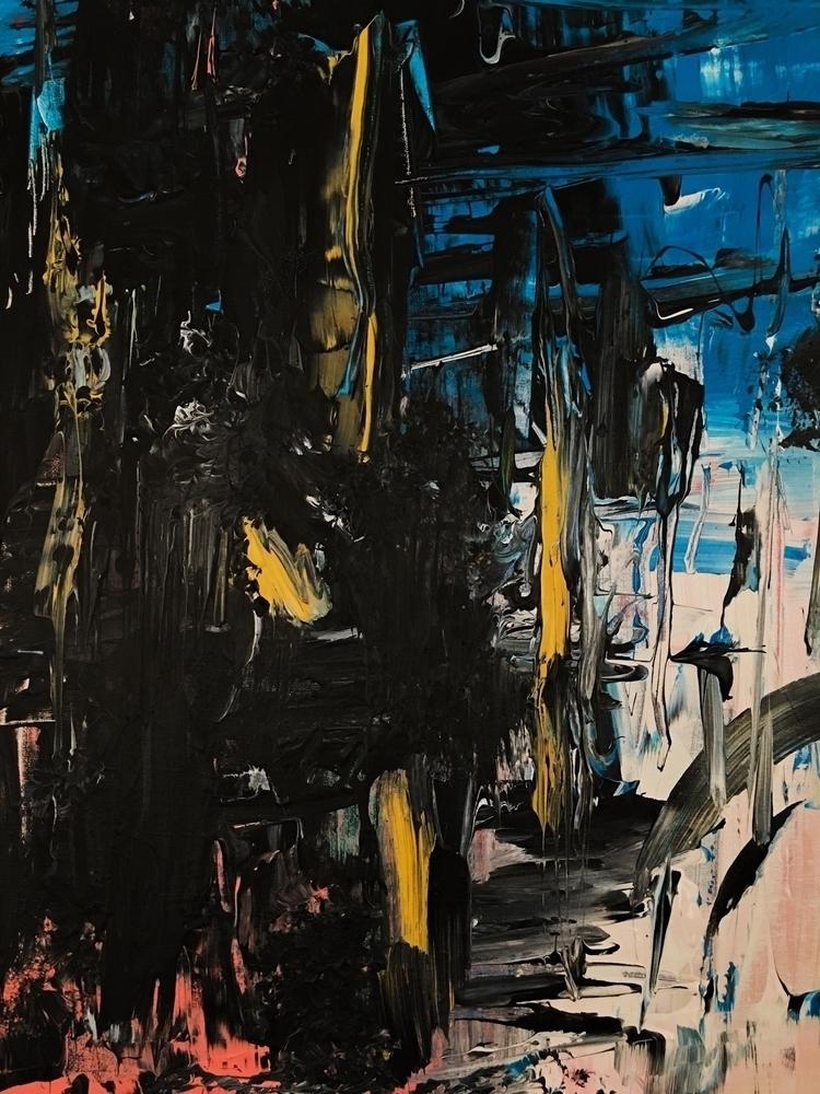 "Stereolab Acrylic canvas 20"" 16 - lawrenciagaaa   ello"