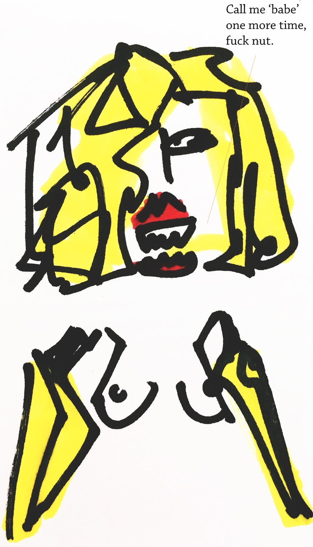 Banana-Arm Woman Tiger Teeth se - jkalamarz | ello