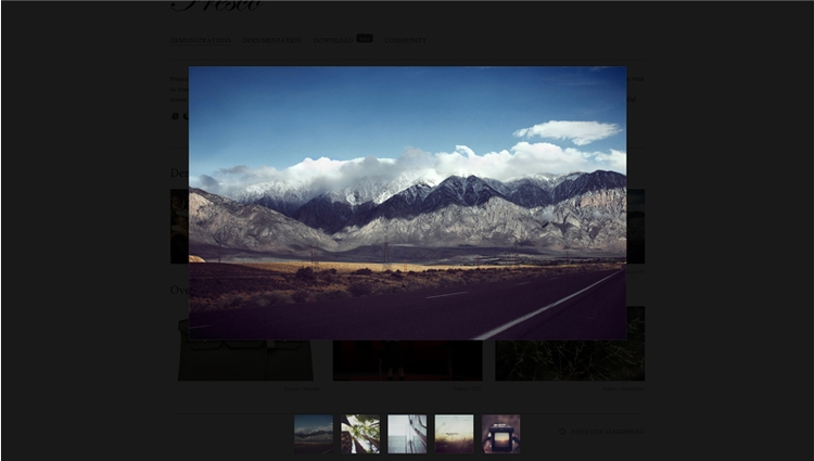 43 JQUERY GALLERY PLUGINS Colle - freefrontend | ello