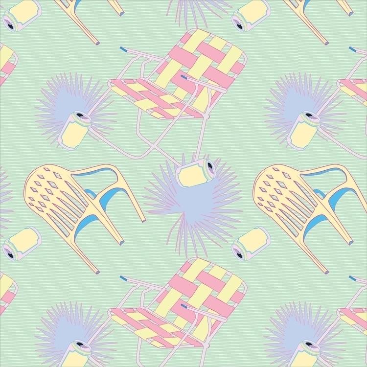 FLORIDA. series patterns illust - slow_studies | ello