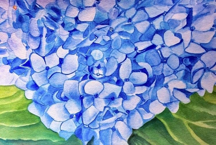 Watercolor bee paper 6x9 inches - greeksauce | ello