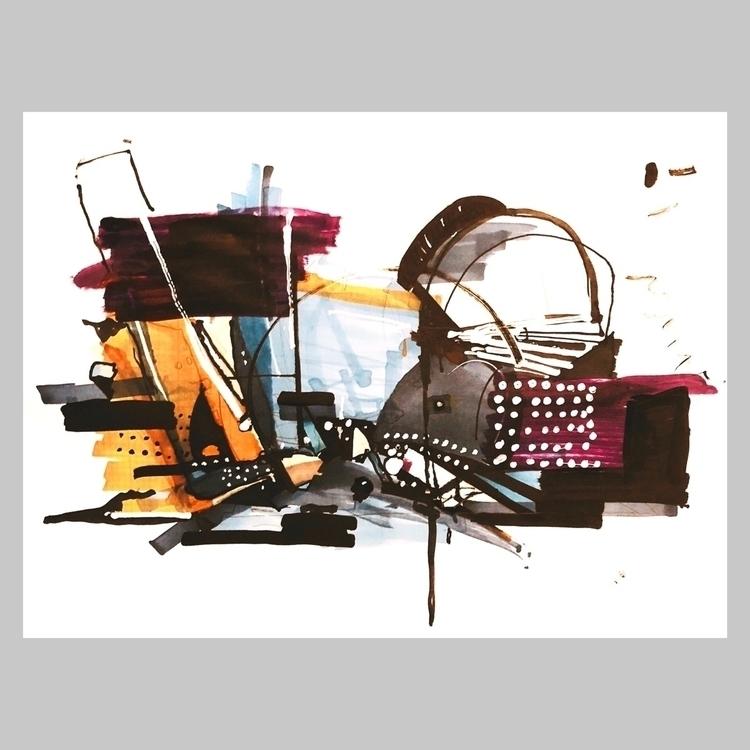 abstractart, art, composition - jcraywtf   ello