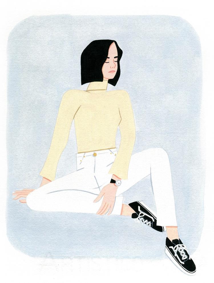 Artist: Coney Leung Series: GIR - coneyleung | ello