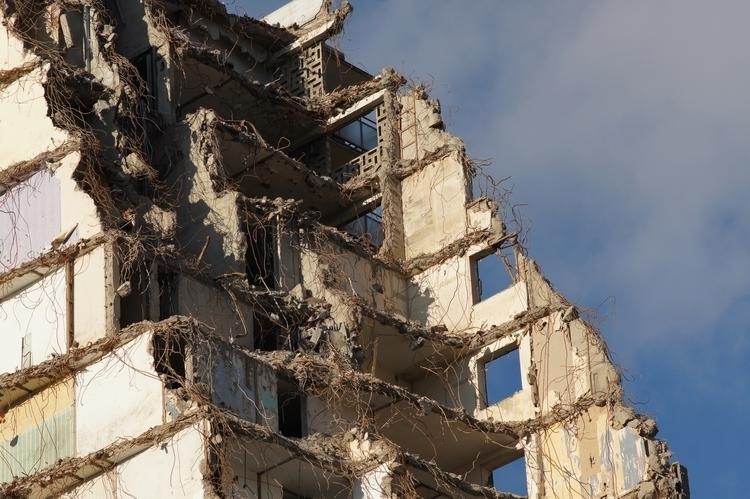 Demolition, Glasgow, Scotland - yannick_glasgow | ello