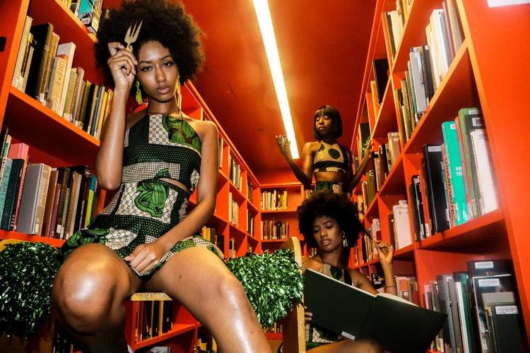 African Cheerleader Series Skin - doseofdots | ello
