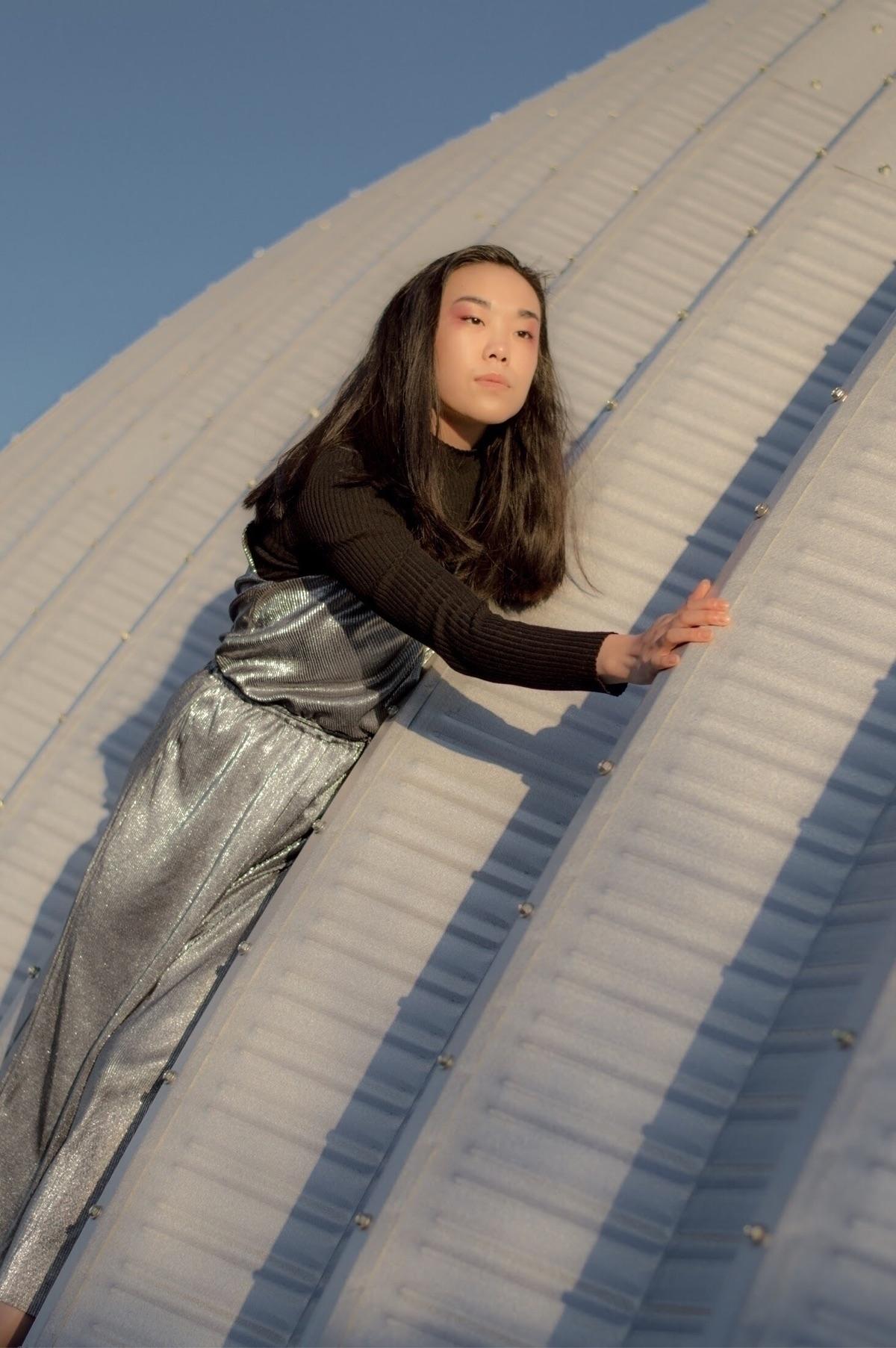 Silver (jump)Suit Model: Erika - maggienovak | ello