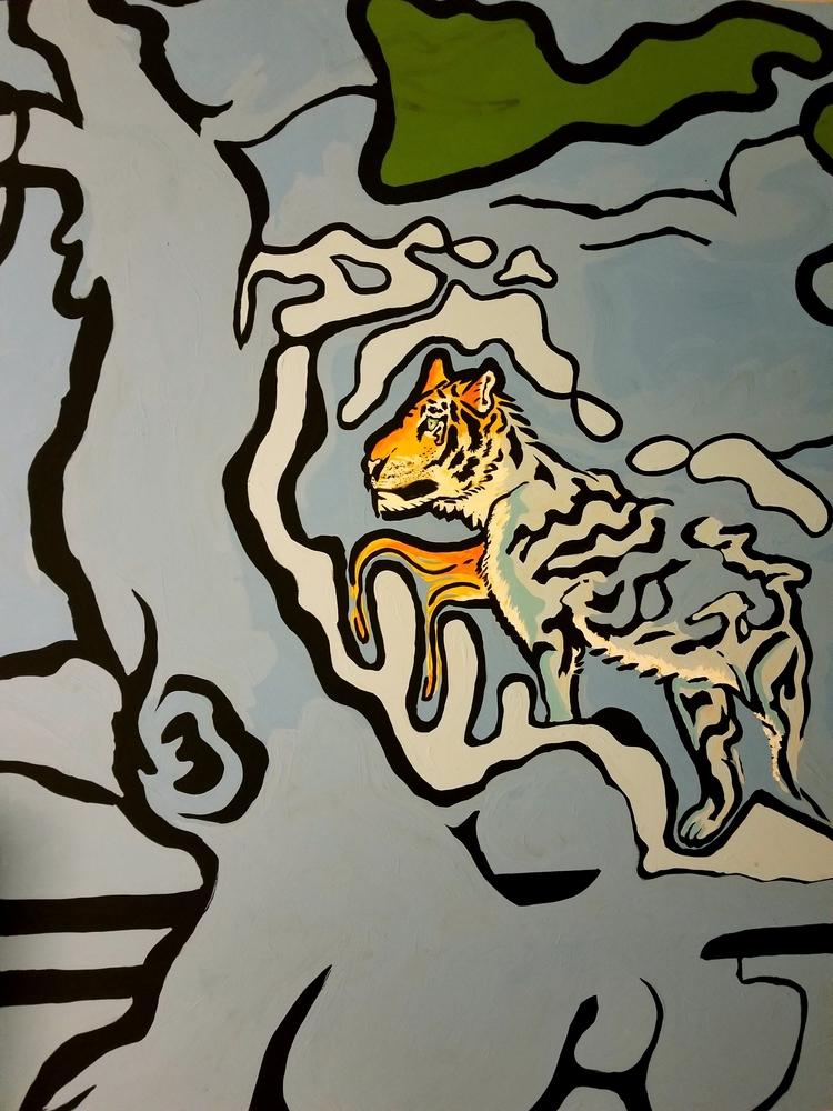 Sad tiger - gilwiththeart | ello
