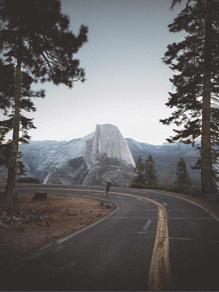 boarding glacier road  - photography - newtonography | ello