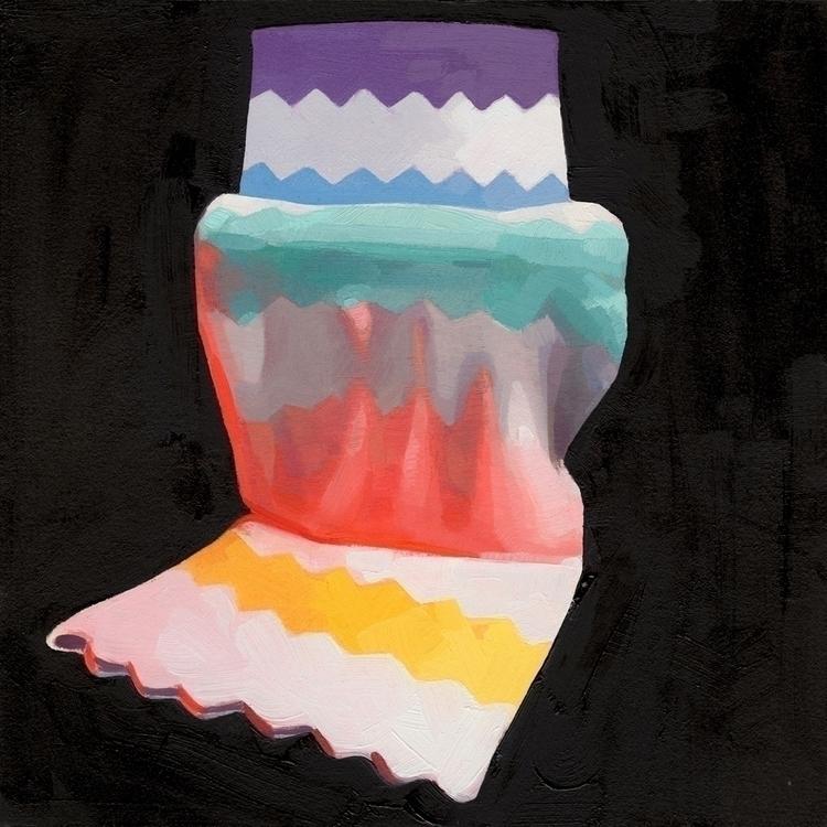 Afghan Abstracted- Black oil pa - feliciaforte | ello