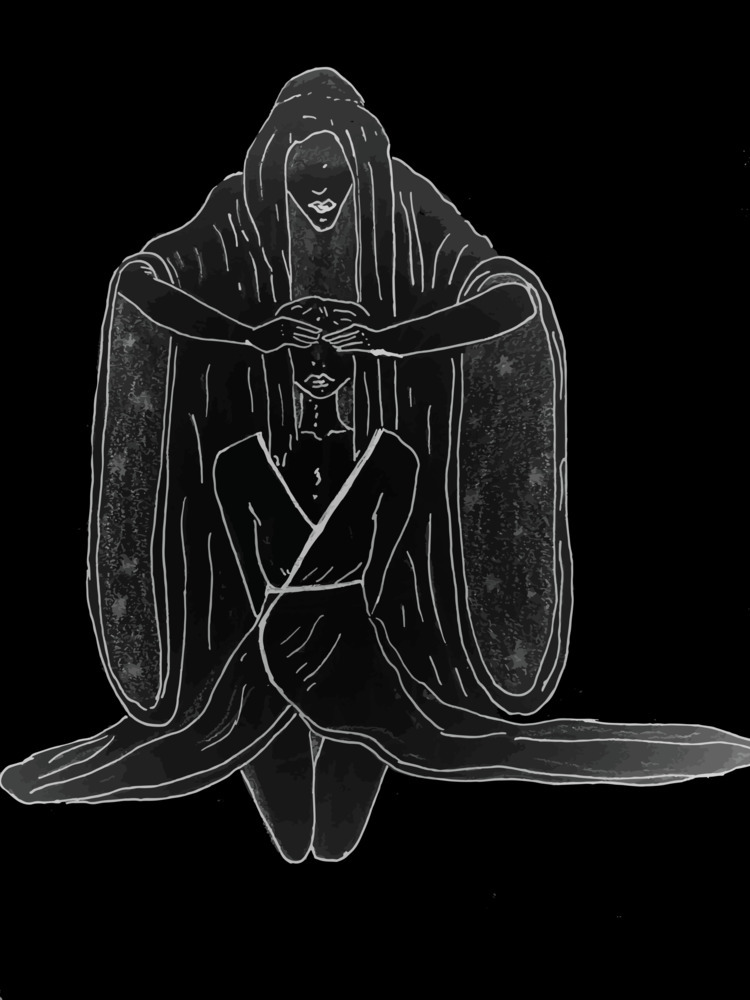 goth, grave, drawing, digital - abeja_vcm   ello