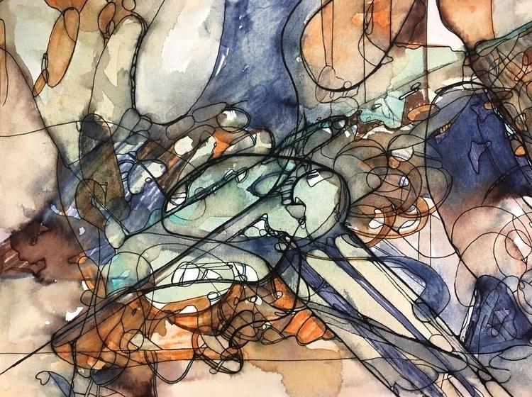Untitled 401. 11 15 Watercolor - drake94952   ello