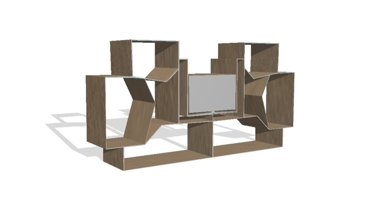 TV UNIT , Concept Cube . Submit - marwamohsen | ello