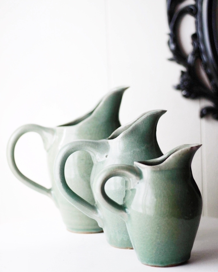 Green Pitchers: Small- $45. Med - swastographystudios | ello