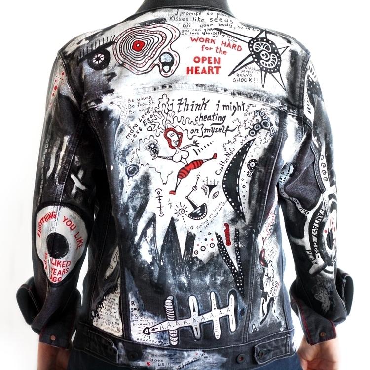 jeans jacket - fashion, art, levis - jsilverhoof   ello