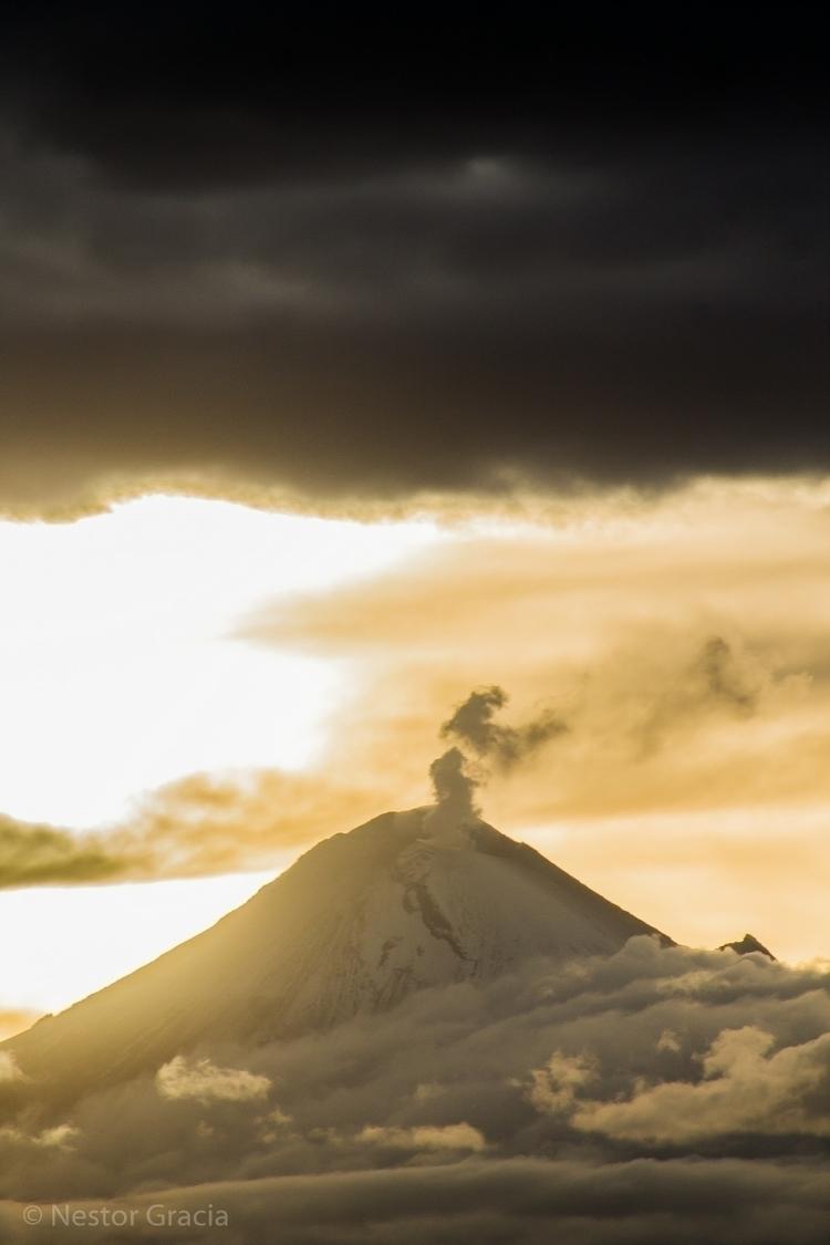 Sunset - puebla, volcan, volcano - _graciovzky | ello