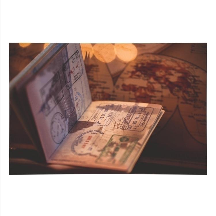 passport, vintage, map, travel - jackwesterheide | ello