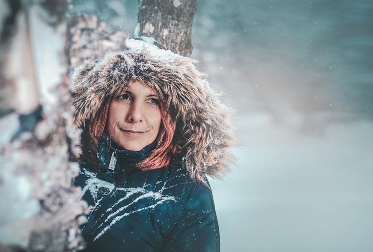 Genevieve. Ahhh winters Canada - jackville | ello
