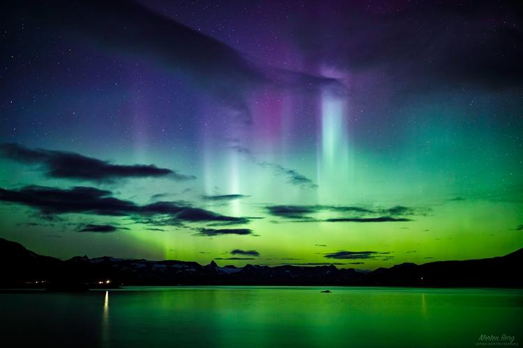 Aurora captured Tyin Jotunheime - mortenberg   ello